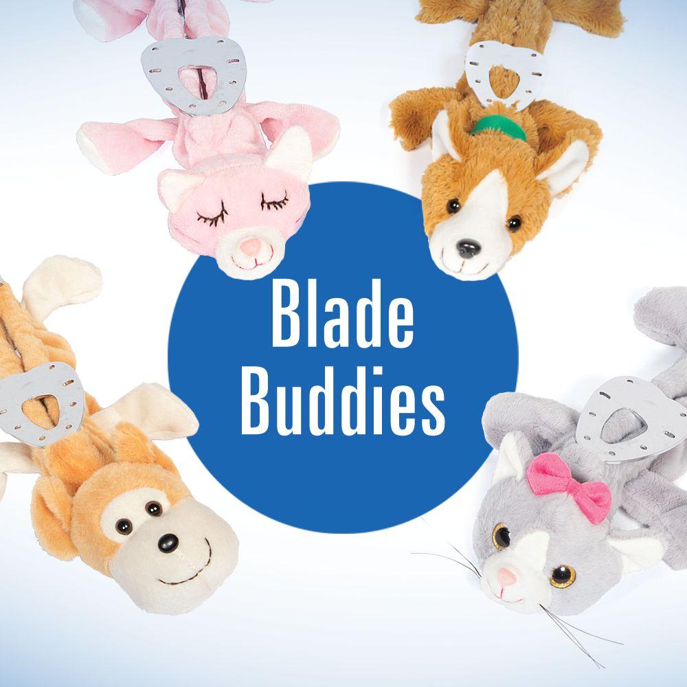 Blade Buddies Eiskunstlauf Stoffschoner mit Tiergesicht