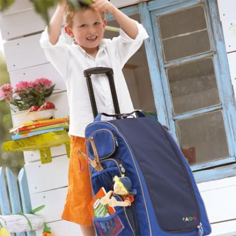 Rollkoffer von jako-o für Kinder.